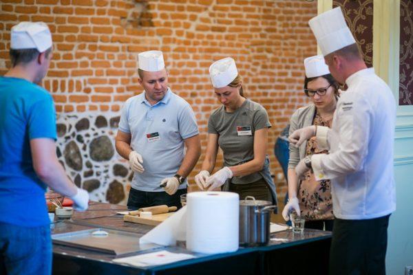 Warsztaty z gotowania dla firm Warszawa