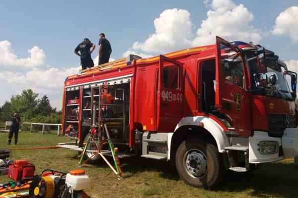 organizacja pikników ze strażą pożarną