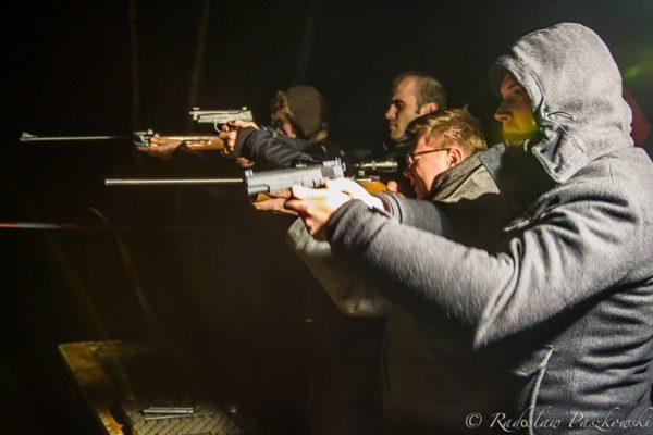 Wyjścia firmowe integracyjne strzelnica