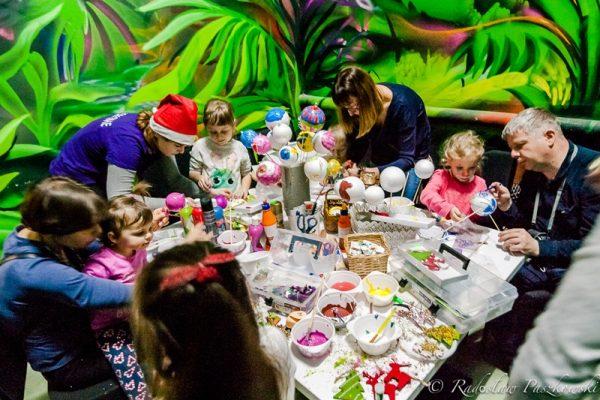Warsztaty świąteczne dla dzieci - organizacja Warszawa