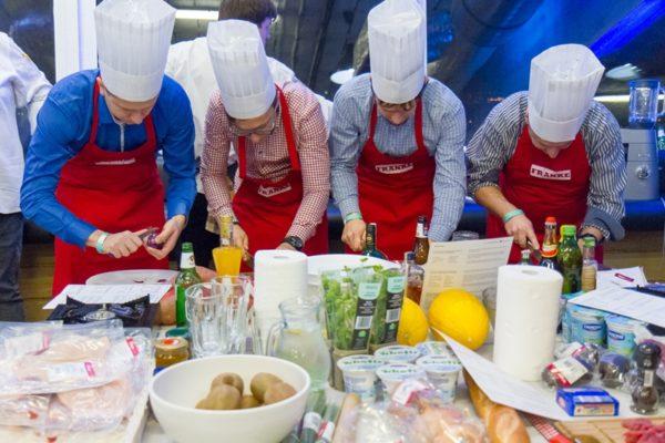 Integracja pracowników - gotowanie