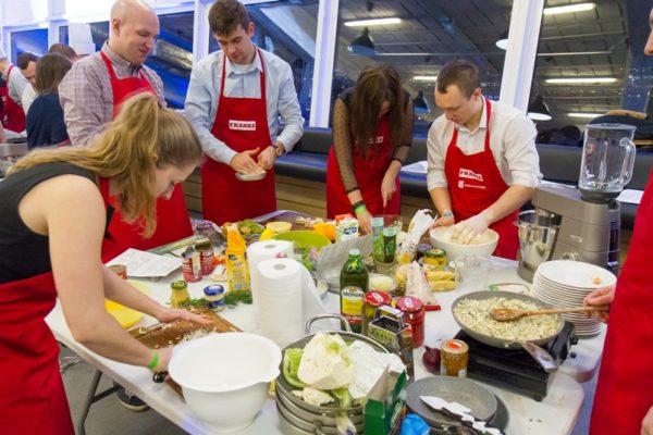Impreza firmowa - gotowanie