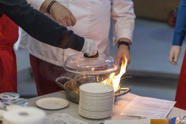 Impreza firmowa gotowanie